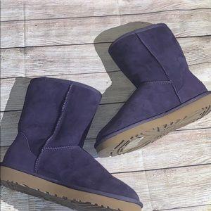 UGG Classic Short Purple 12